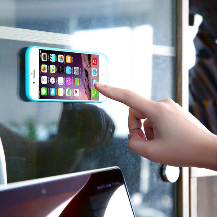 newest 0e2d9 377f7 Ultra Thin Anti Gravity Magical Suction Case For iPhone 6 Plus 6S Plus 5.5  Inch