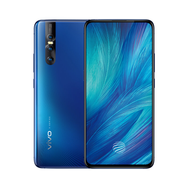 VIVO X27 6.39 Pollici FHD + Super AMOLED 4000mAh Android 9.0 8 GB RAM 256 GB rom Snapdragon 710 Octa Core 4G Smartphone