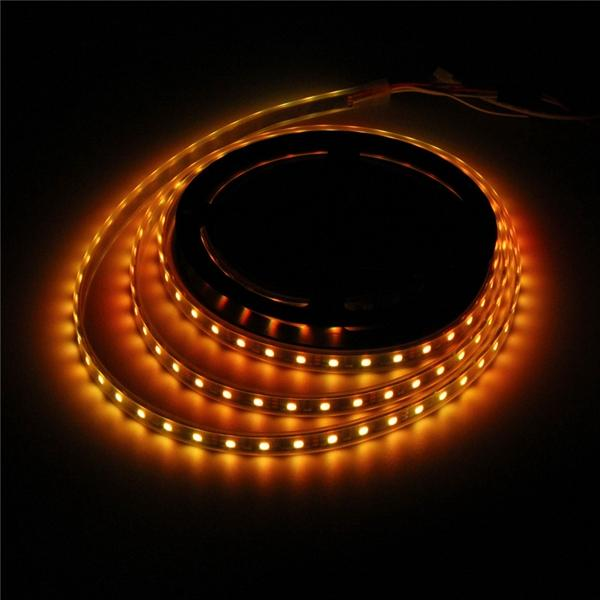 5M WS2812B 5050 RGB Waterproof IP67 150 LED Strip Light Dream Color Changing Individual Addressable DC 5V - 6