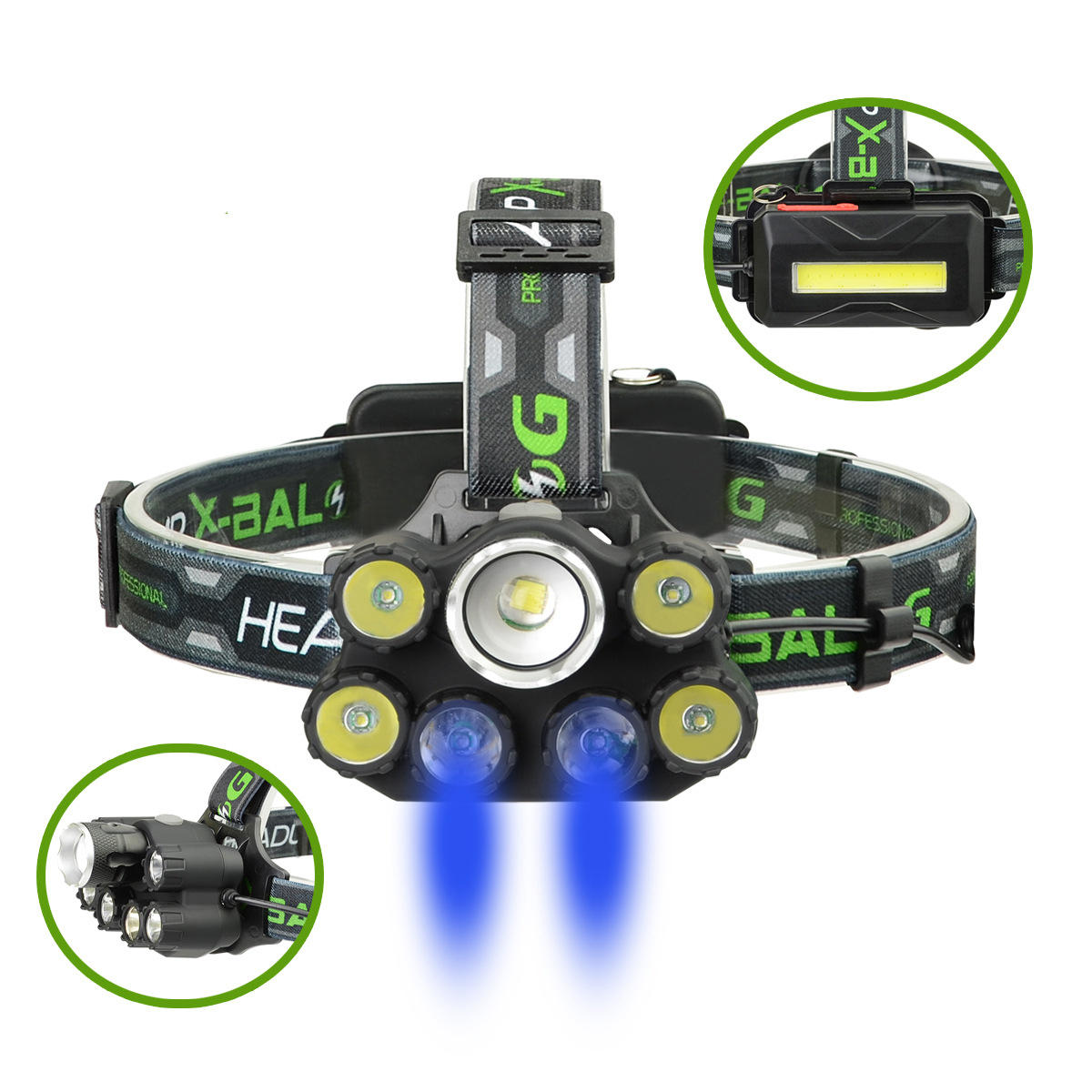 Nitecore NU32 550LM XP-G3 S3 LED Headlamp Lightweight 330h Max Runtime IP67 Built In Rechargeable Battery USB Port - 1