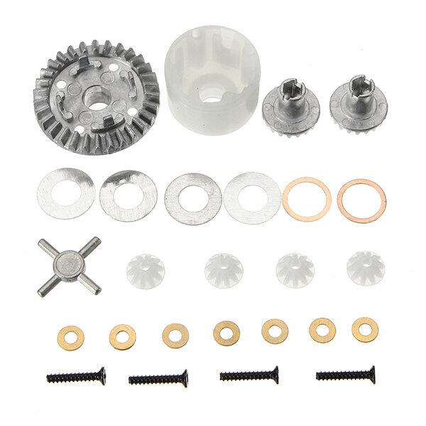 HBX 12891 1/12 Differential Gears set + Differential Case 12611R RC Car Parts