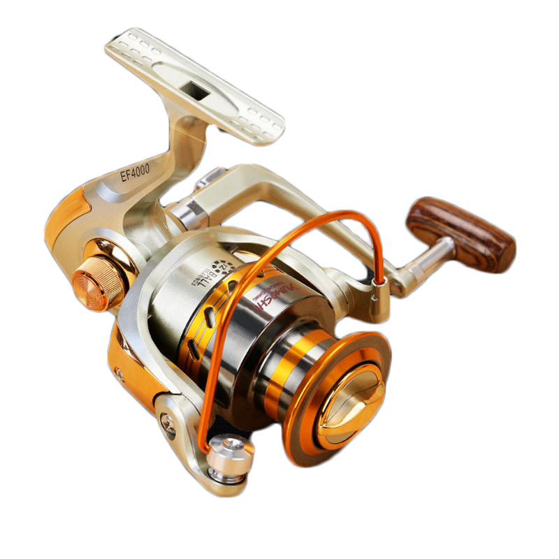 ZANLURE EF3000-6000 5.5:1 12BB Full Metal Spinning Reel Left/Right Hand interchange Fishing Reel - 4
