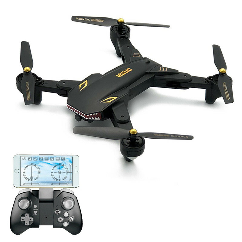 VISUO XS809S BATTLES SHARKS 720P WIFI FPV With Wide Angle Camera 20Mins Flight Time RC Quadcopter