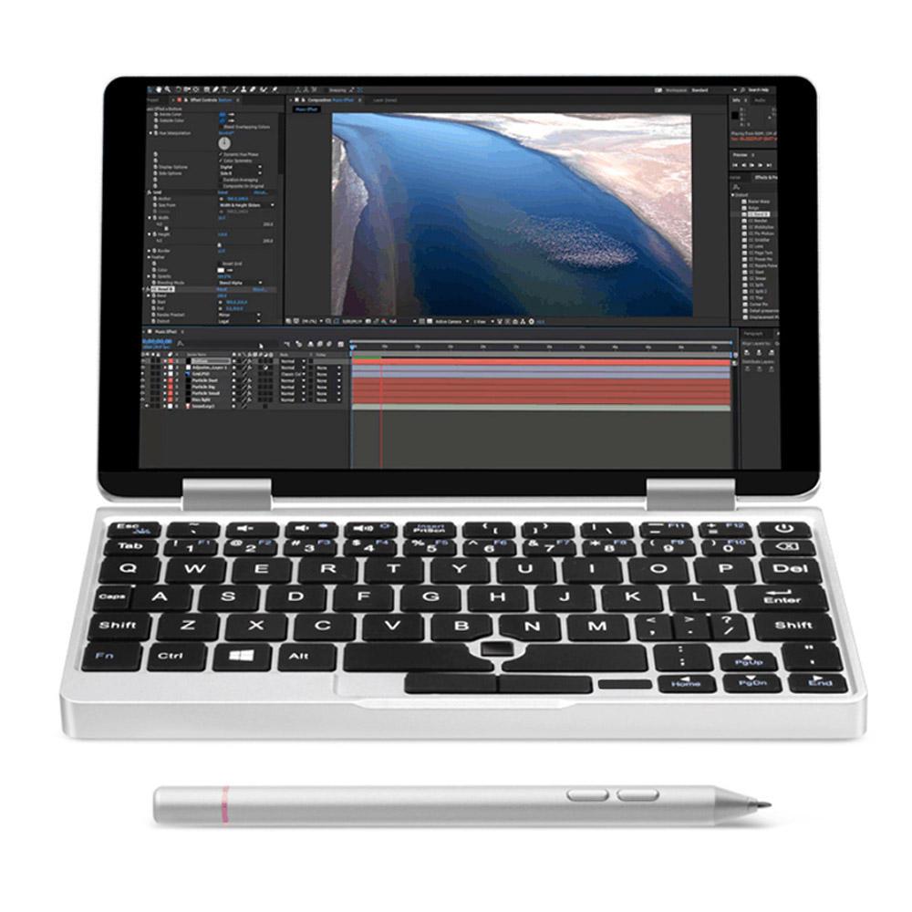 "ONE-NETBOOK One Mix 2s M3-8100Y 3.4GHz 8GB RAM 256GB PCI-E SSD 7"" Windows 10 Tablet"