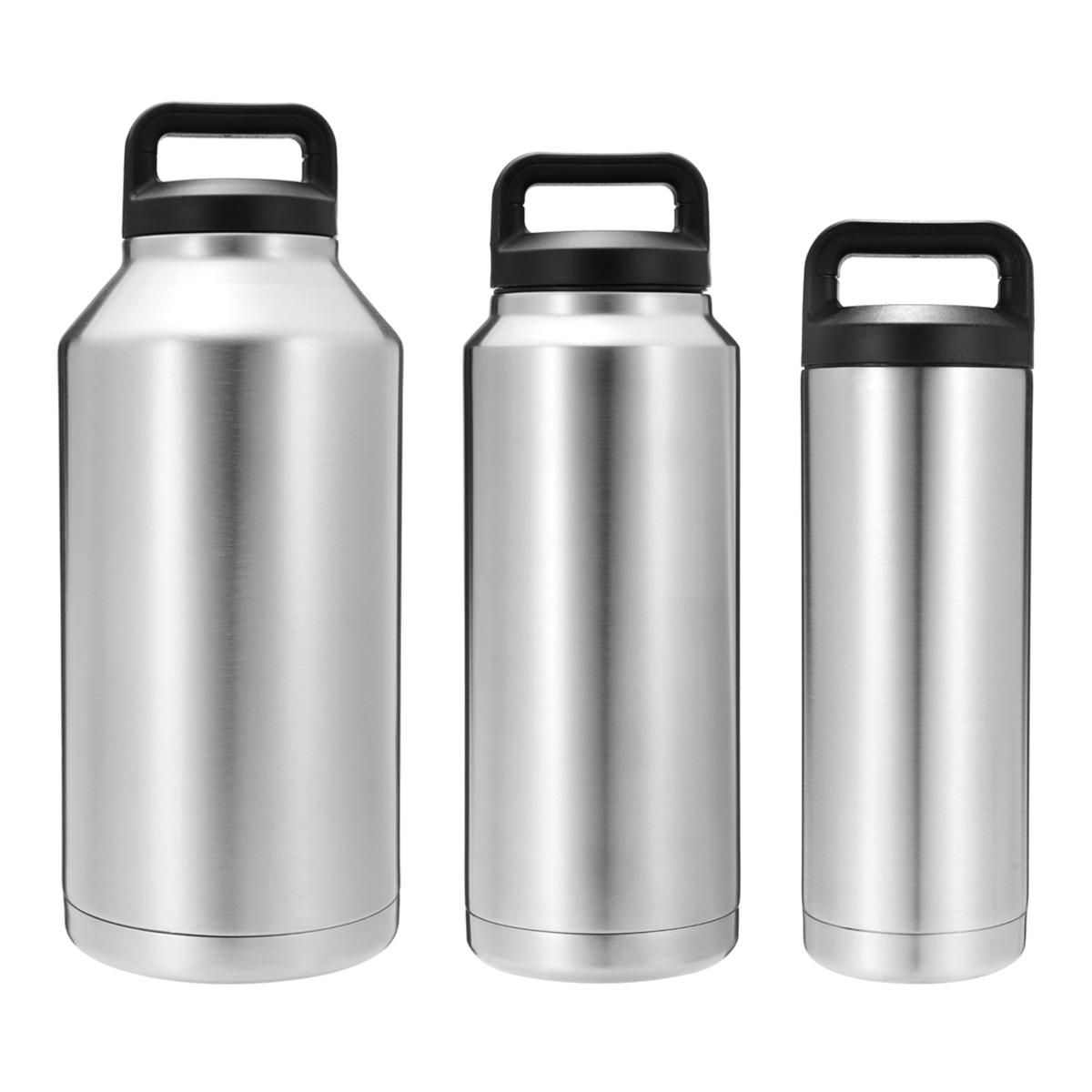 18-64oz stainless steel thermos camping double wall cool