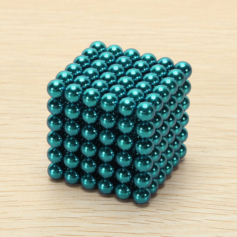 1000PCS Per Lot 5mm Magnetic Buck Ball Magnet Silver Intelligent Stress Reliever Toys Gift - 7