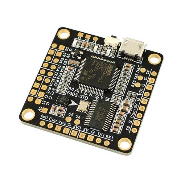 Matek F405 OSD BetaFlight STM32F405 Flight Controller Built in OSD Inverter for RC Multirotor FPV Racing Drone