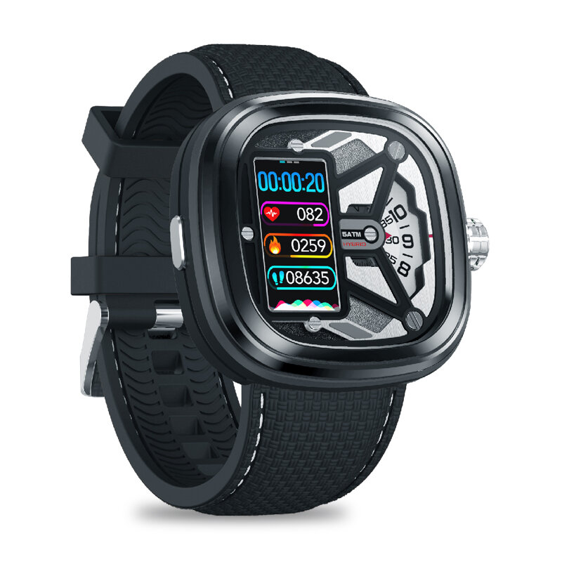Zeblaze HYBRID 2 Absolute Toughness Heart Rate Blood Pressure Monitor Female Health Tracking Dual Modes Smart Watch фото