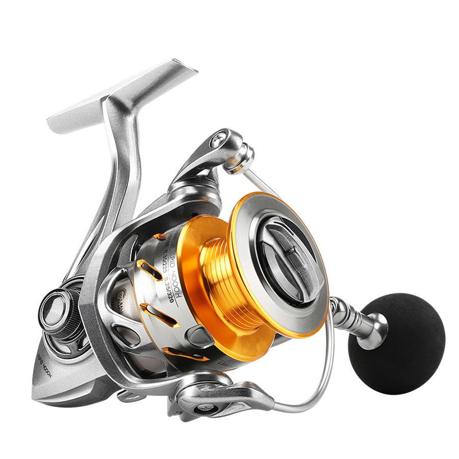 ZANLURE 7.2:1 17+1BB Metal Baitcasting Fishing Reel Long Shot Left / Right Hand Fishing Wheel - 1