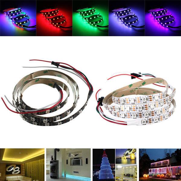 1M WS2812 IC SMD5050 Dream Color RGB не водонепроницаемый LED Газовый свет Индивидуальный адресный DC5V