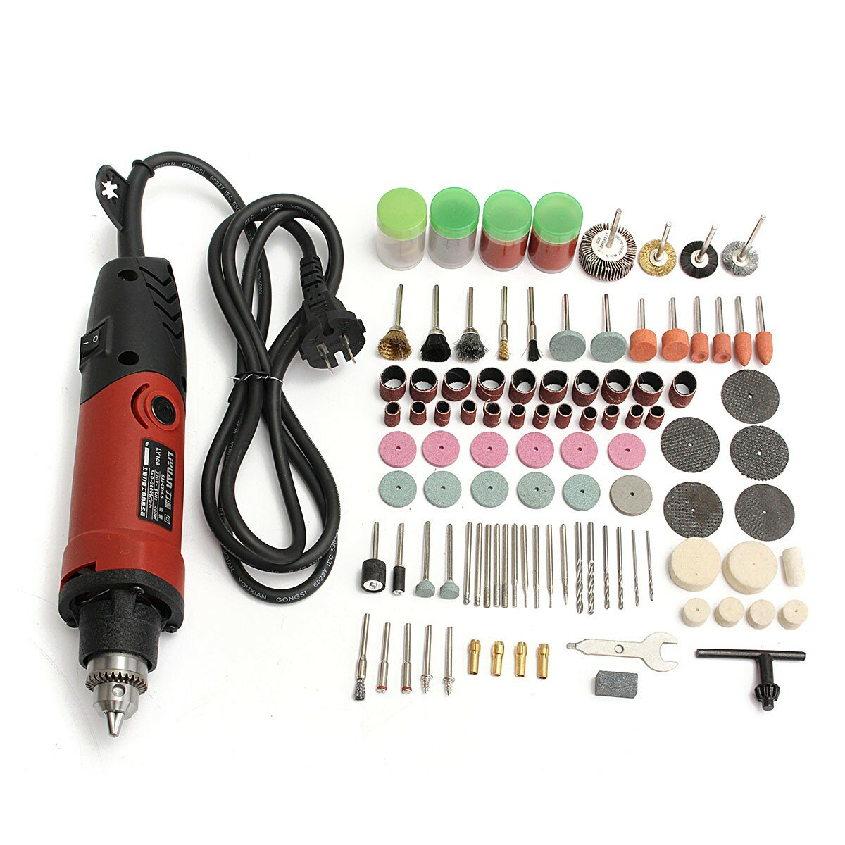 48V 3 In 1 Cordless Power Drills 15+1 Torque Drilling Tool Dual Speed Electric Screwdriver Drill W/ 1 or 2 Li-ion Battery - 1