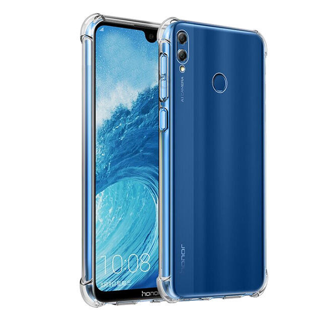 Bakeey Air Bag Shockproof Transparent Soft TPU Protective Case for Huawei Honor 8X MAX