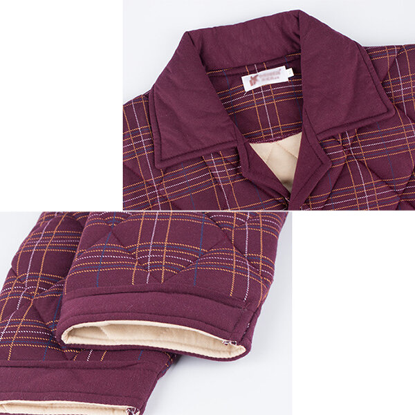 Men Flannel Thick Plain Onesies Loungewear Thermal Thumb Ho - 9