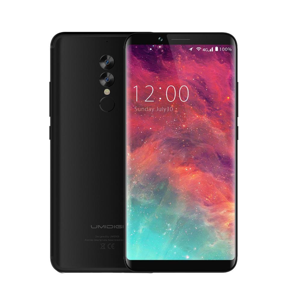 UMIDIGI S2 6 inch 4GB RAM 64GB ROM Helio P20 Octa core 2.3GHz 4G Smartphone