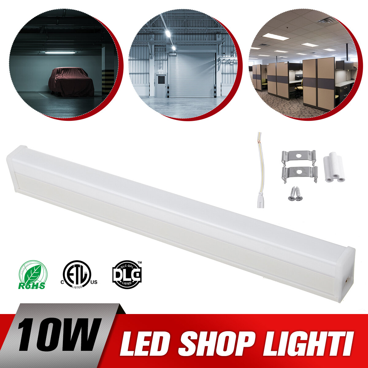 Fluorescent Tube Cabinet-Undershelf LED Light Tube Bulb Lamp Kitchen Indore Home