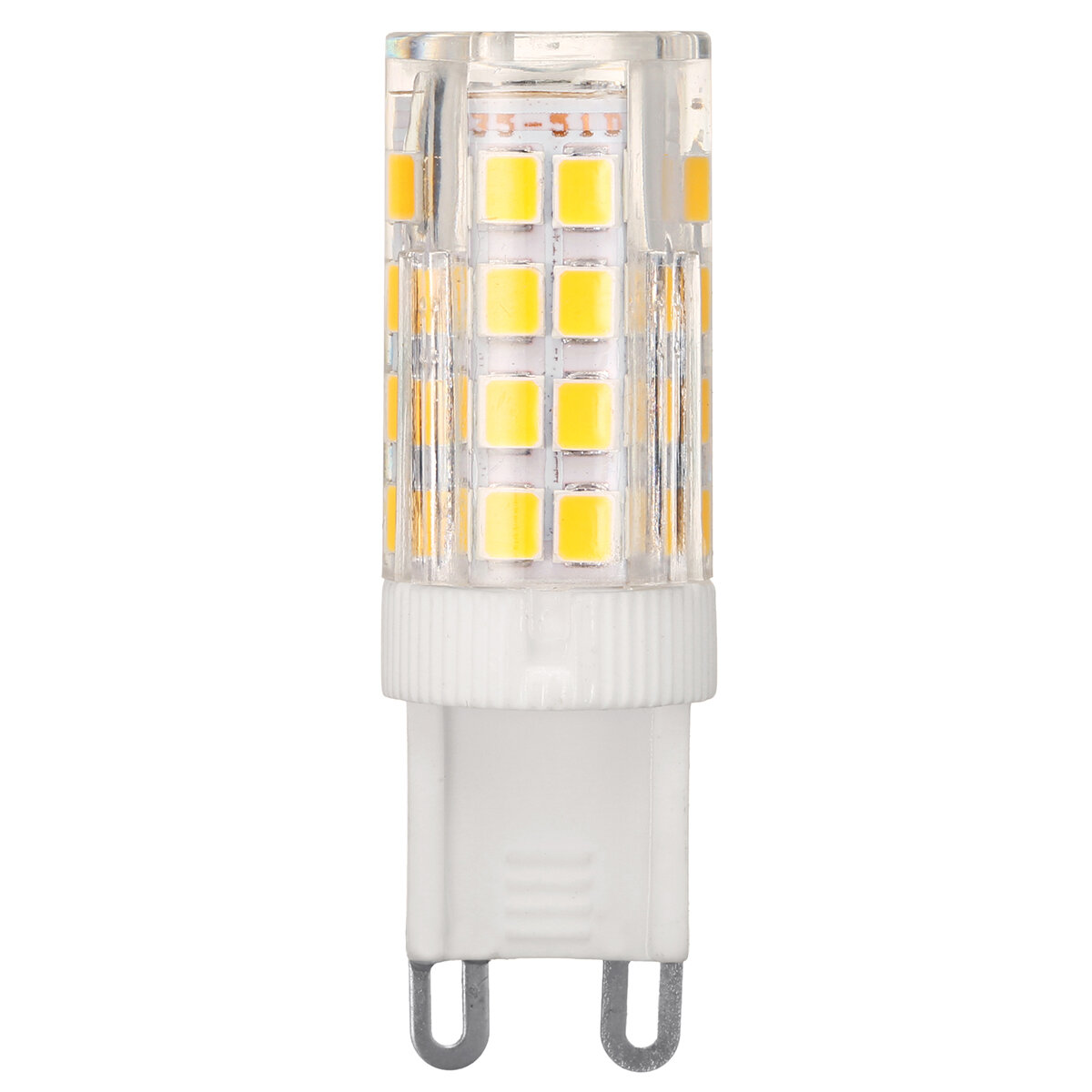 AC110-240V 9W G9 SMD2835 Non-dimmable 75 LED Ceramic Corn Light Bulb for Outdoor Home Decoration - 4
