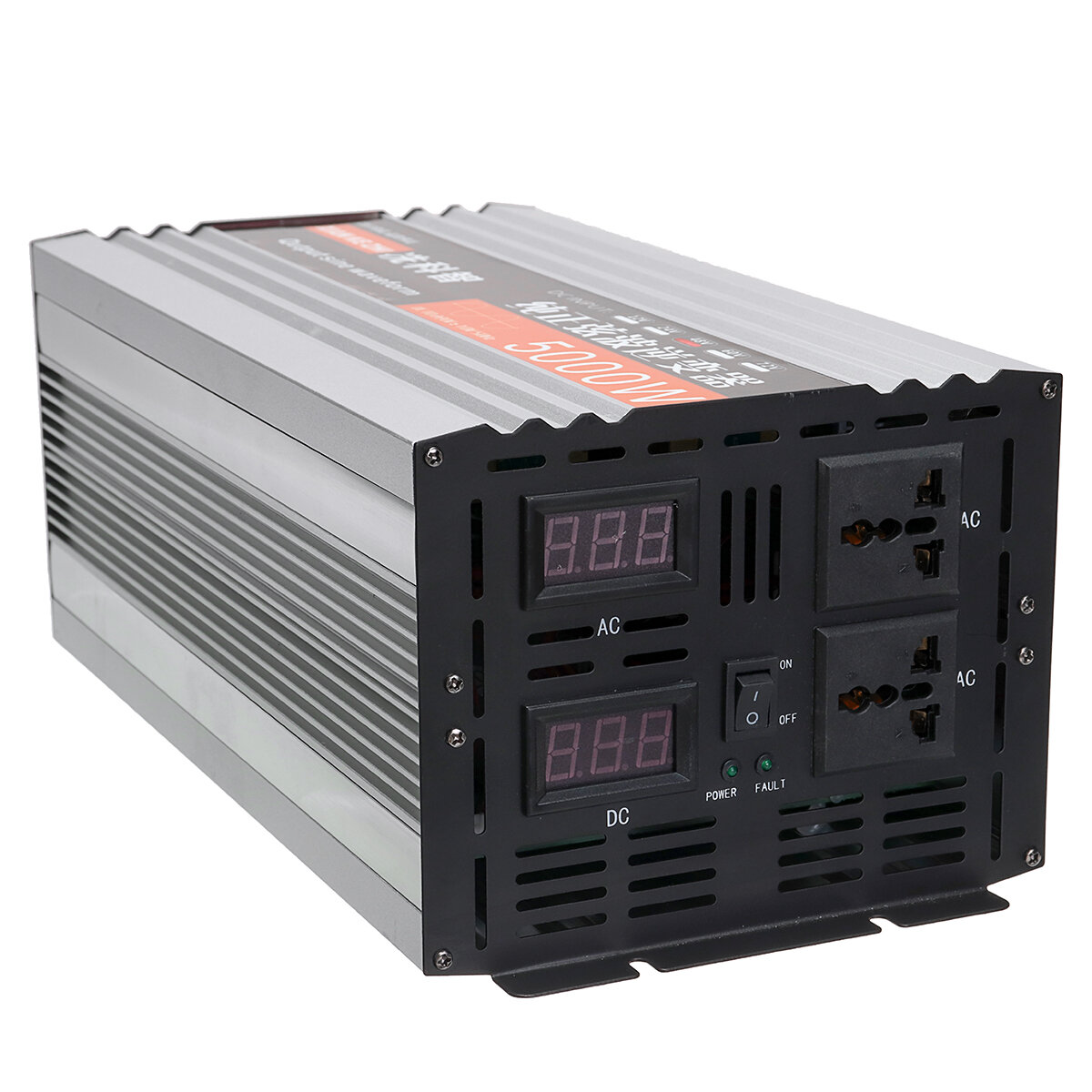 Pure Sine Wave Inverter Dual LED Display 5000W Power Inverter 12V / 24/48 / DC till 220V AC Converter