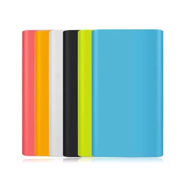 Silicone Protective Back Cover Case For Xiaomi Mi 2nd Generation Power Bank 10000mAh