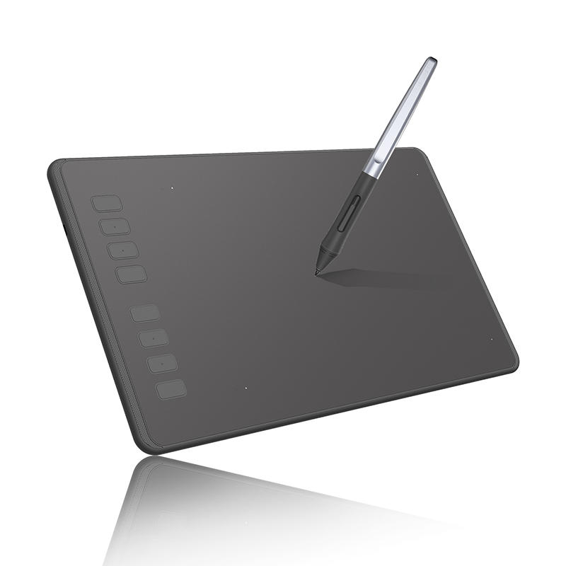 Huion H950P Graphics Tablet Drawing Digital Tablets with 8192 Levels Pen Battery-Free Drawing Board