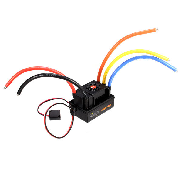 FVT 180A Sensored Brushless Waterproof ESC For 1/5 1/8 RC Car Skateboard ESC