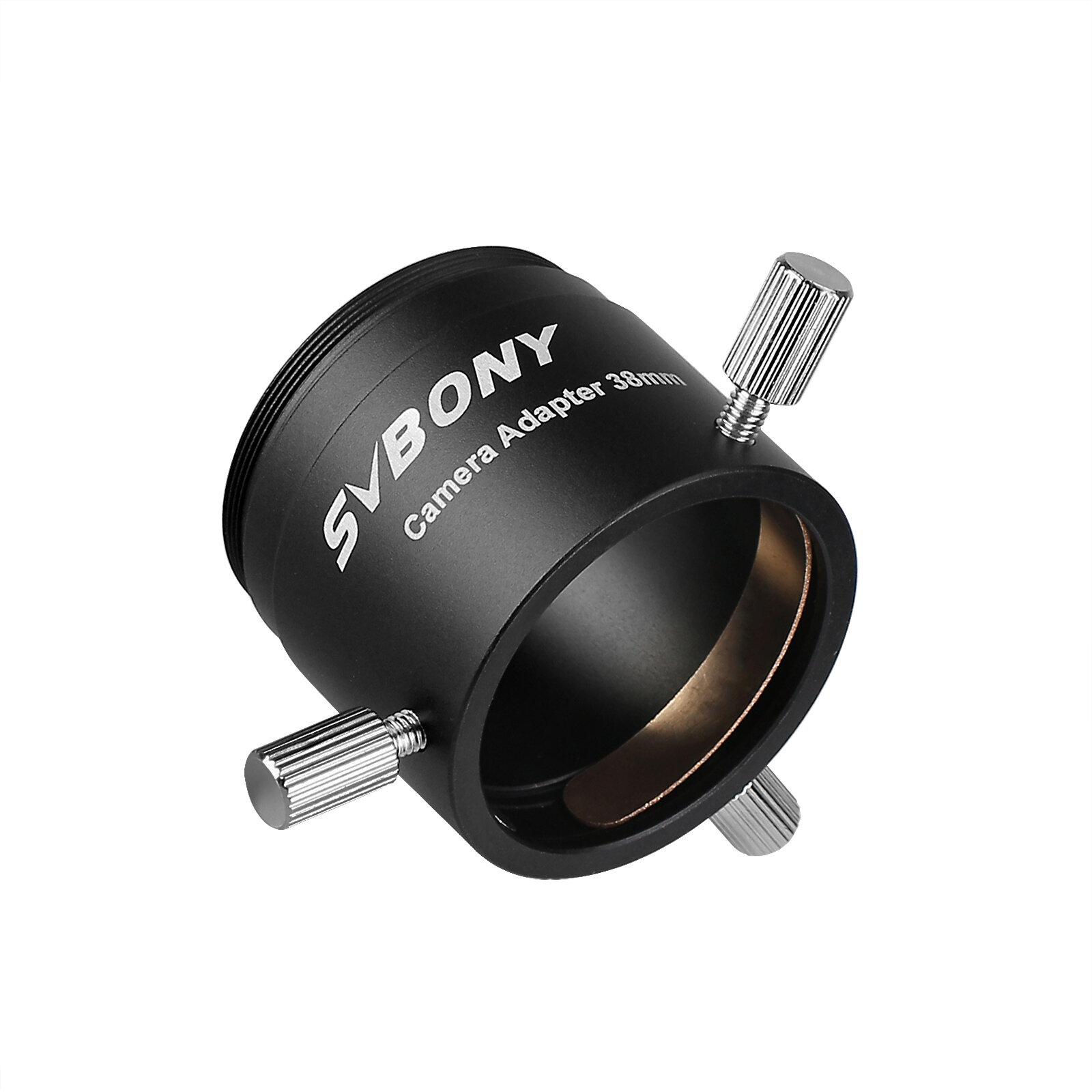 SVBONY SV186 Universal T2 Camera Photo Adapter for Telescope Spotting Scope Eyepieces Adaptor Inner Diameter 38mm