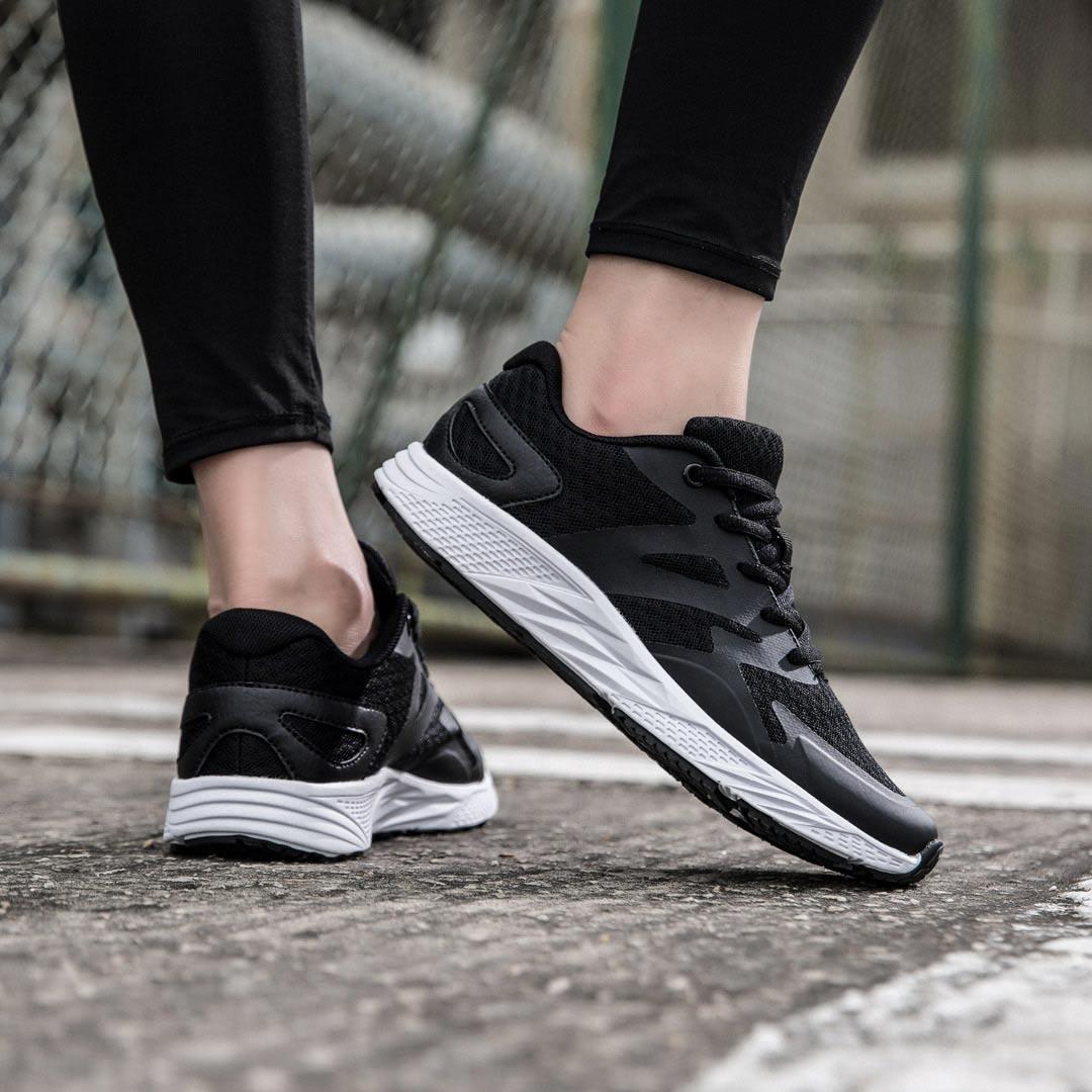 YUNCOO Ultralight Men Sneakers High Elastic EVA Wear Resistance Non slip Sports Running Shoes Casual Shoes from xiaomi youpin - 5