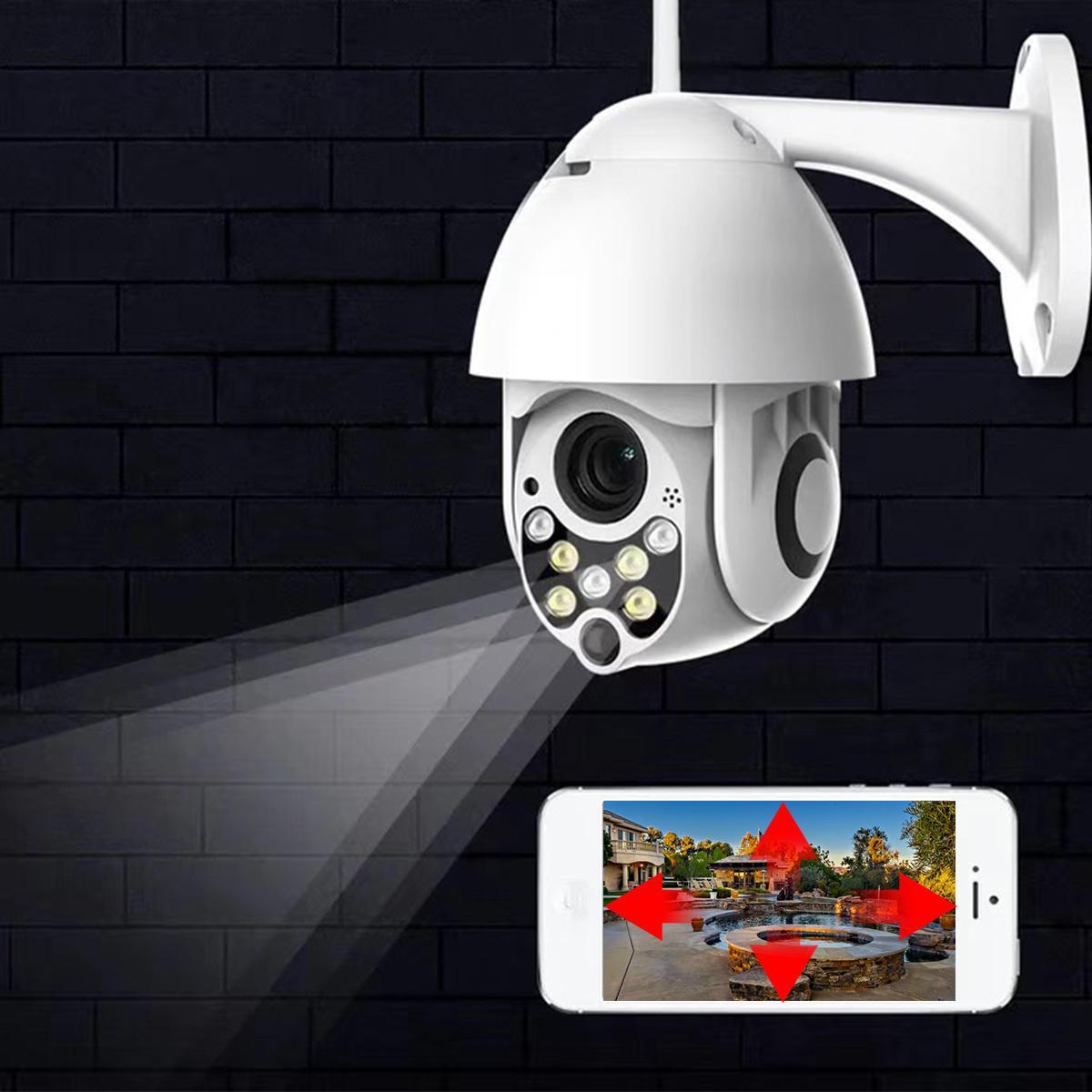 1080P 2MP Wireless Waterproof WIFI IP Security Camera Intercom Night Vision  CCTV ONVIF Protocol AP Hotspot