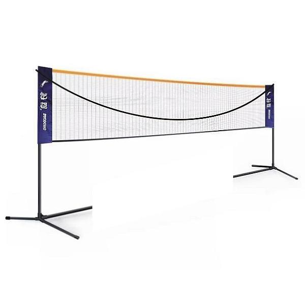 6M red de bádminton al aire libre redes de tenis de voleibol deportivo con marco ajustable Altura de ancho ajustable