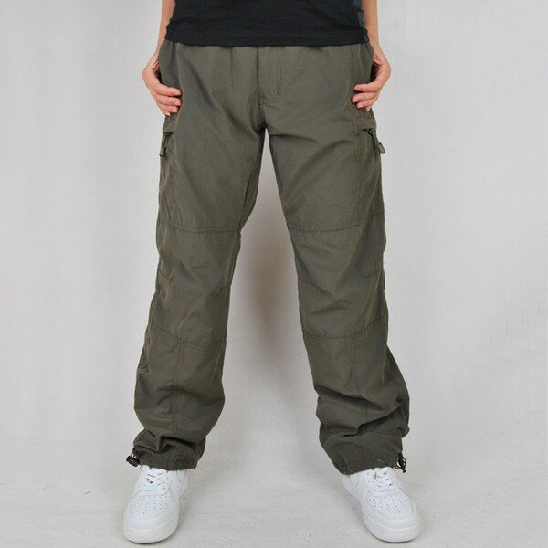 Mens Casual Baggy Street Pant Hippy Harem Drop Crotch Zipper Long Trouser Slack - 2