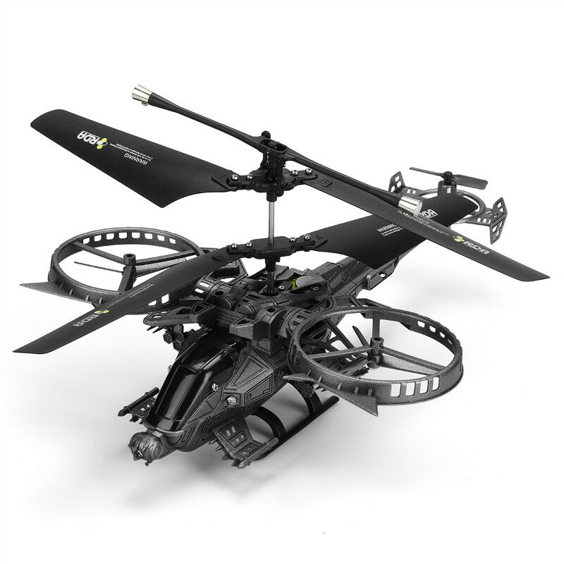 Eachine E119 2.4G 4CH 6-Axis Gyro Flybarless RC Helicopter RTF - 1