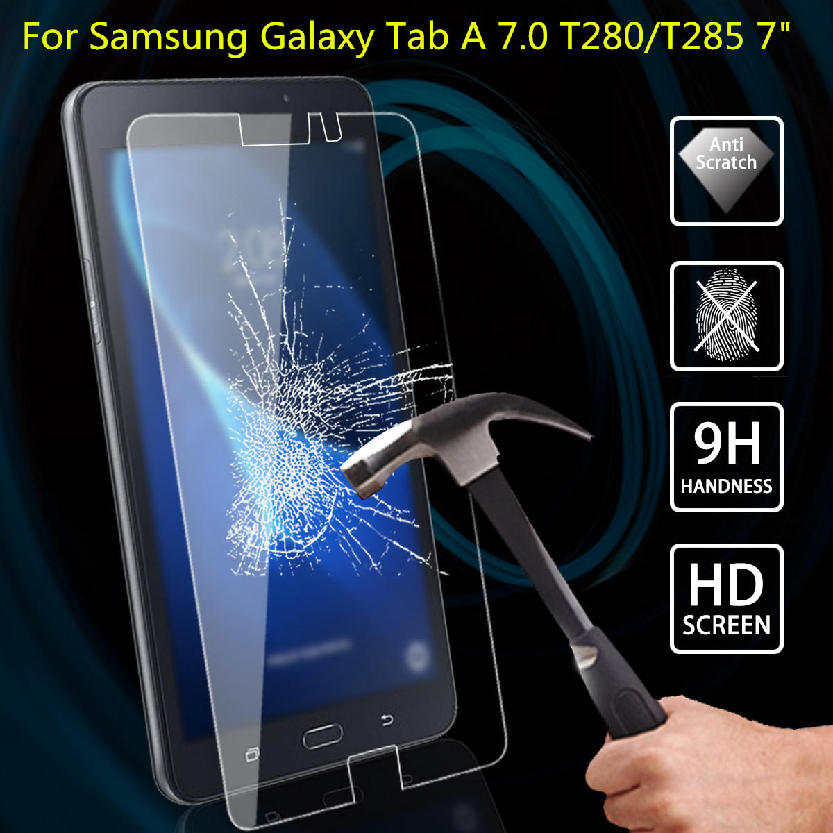 "Clear HD Screen Protector Guard Cover For Samsung Galaxy Tab A 7.0/"" T280 //T285"