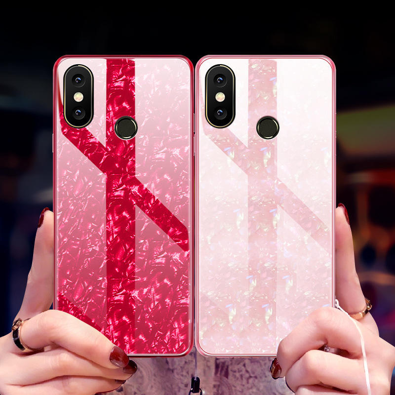 Bakeey Luxury 3 in 1 Plating Frame Splicing PC Hard Protective Case For Xiaomi Mi A2 / Xiaomi Mi 6X - 5