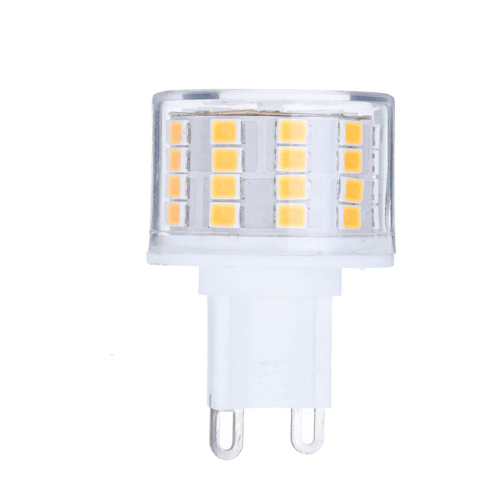 Dimmable E27 E14 E12 G9 GU10 B22 6W SMD4014 LED Corn Bulb Chandelier Light AC220V - 4