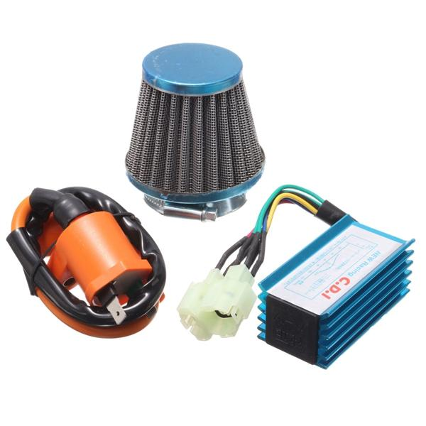 Air Filter Ignition Coil CDI Box Kit For GY6 50cc 125cc 150cc Scooter