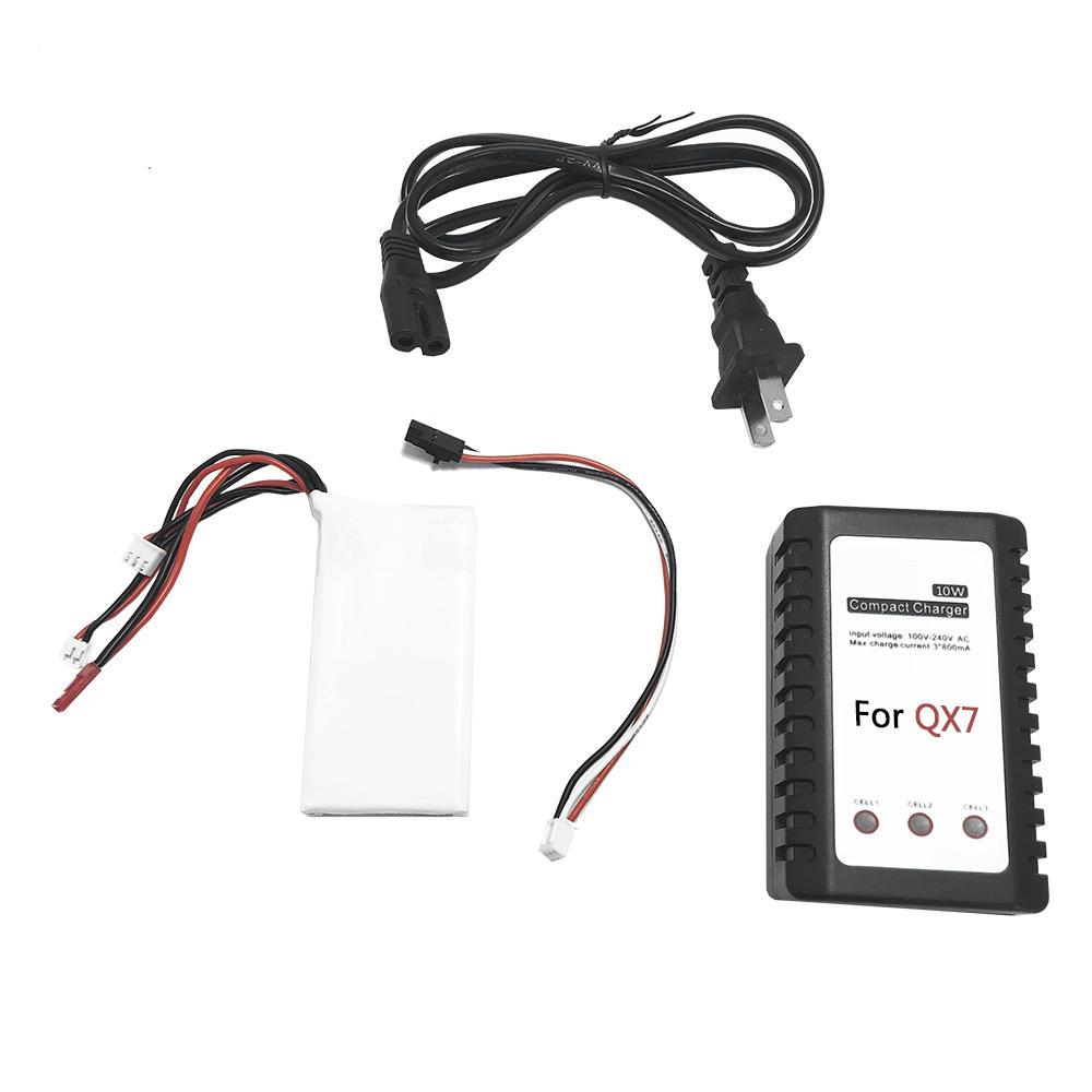 Batarya Şarj Cihazı Kit'i 7,4V 2000mAh Lipo ile Yükseltme Batarya, FrSky ACCST Taranis Q X7 Radyo Verici için