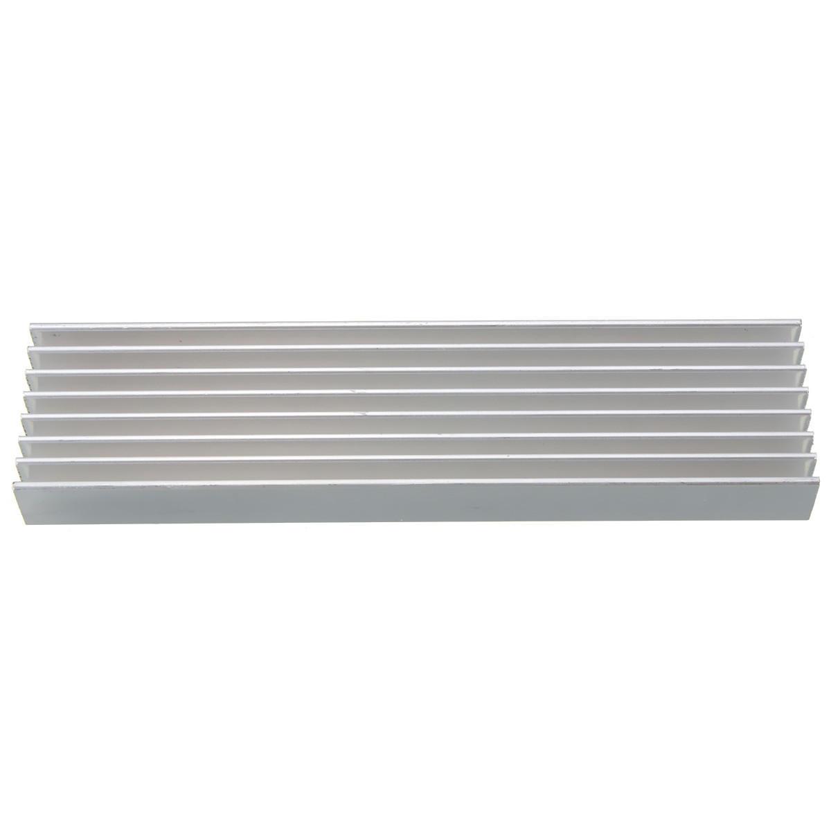 10pcs 100 x 25 x 10mm Aluminum Heat Sink Heatsink