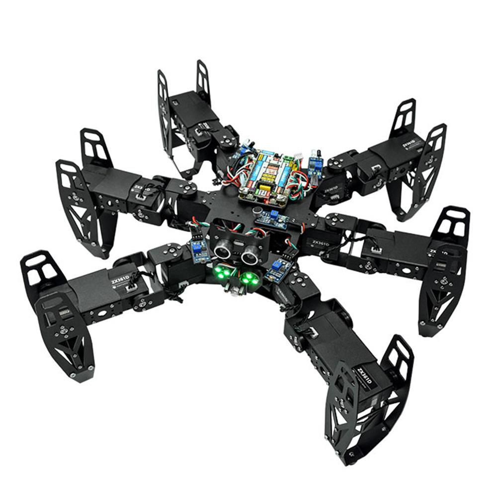 ZL-TECH QF-6 6-Legged Arduino DIY RC Robot APP Stick Control Obstacle Avoidance Educational Kit