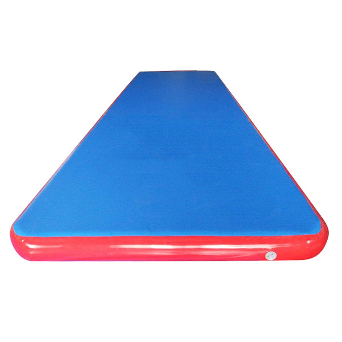 275x79x4inch Inflatable Tumbling Mat Air Track Outdoor Home Gymnastics Training Sport Protection Pad - 2