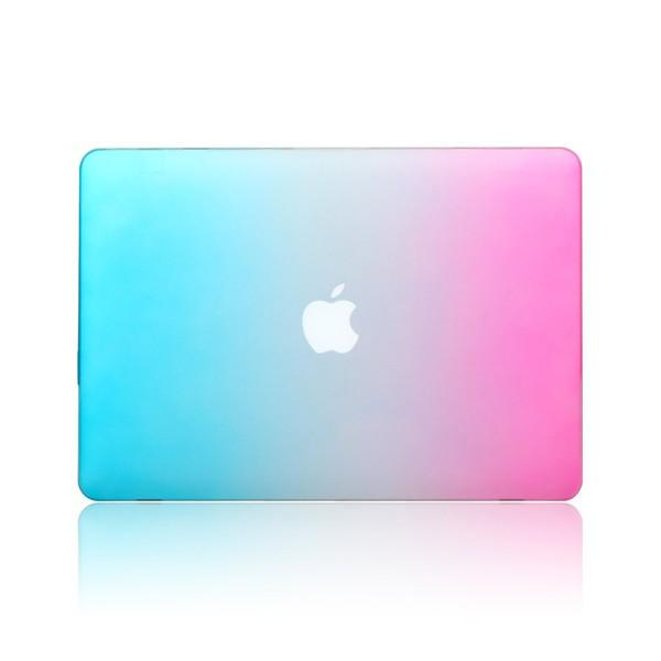 Fashion Rainbow Colorful Beskyttende Shell Laptop Case Deksel For Apple MacBook Retina 15,4 tommer