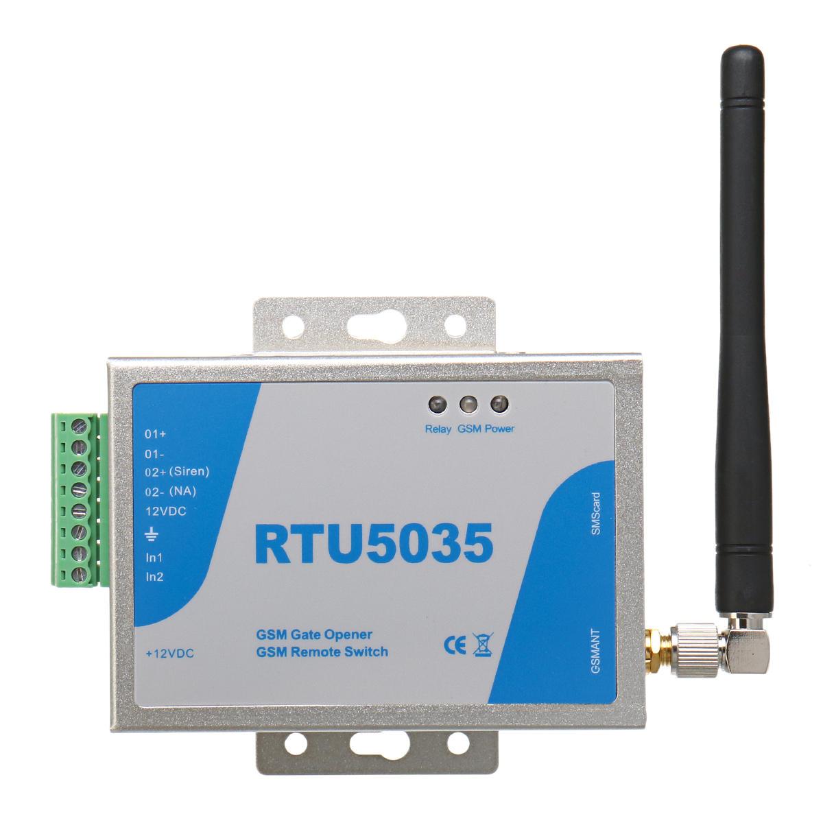 RTU5035 GSM GPRS Gate Opener Operator Sliding Remote Access Shaking Control
