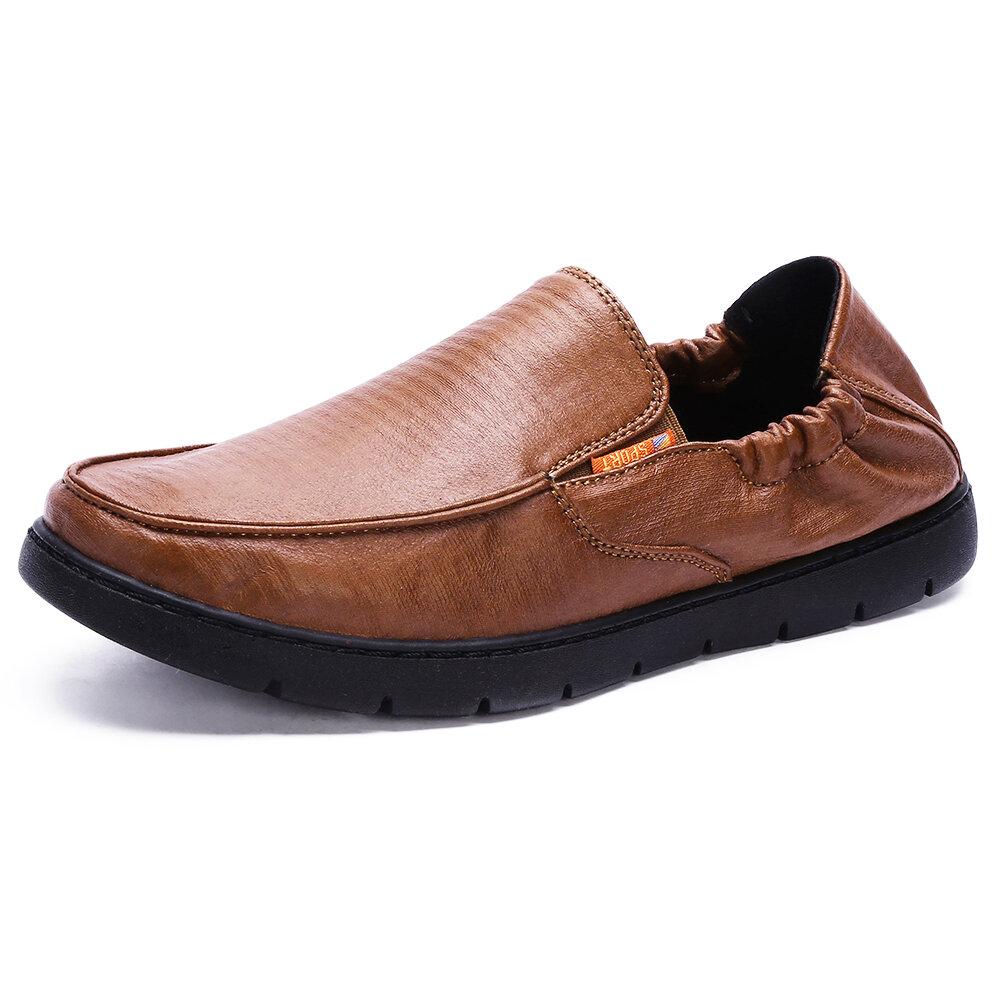Elastic Band Shoes Soft Arch Sole Casual Loafers