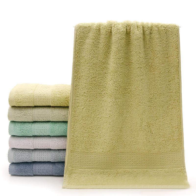 KCASA KC X2 100% Baumwolle Feste Badetuch Schnell Trocknend Soft 10 Farben Dick Hochabsorbierend Antibakterielle Handtuch - 7