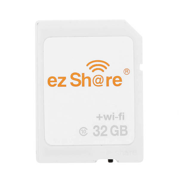 EZ SHARE 3rd Generation C10 32GB WIFI Memory Card with WIFI Switch - 1
