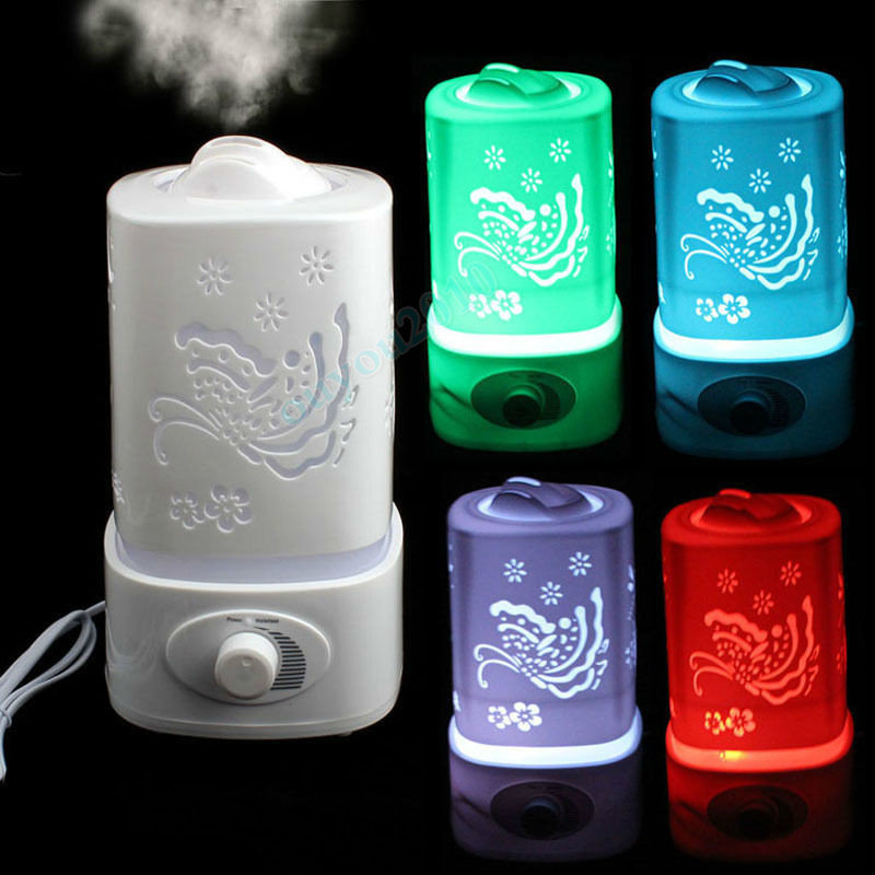 1.5L Ultrasonic Home Aroma Humidifier Air Diffuser Purifier Atomizer