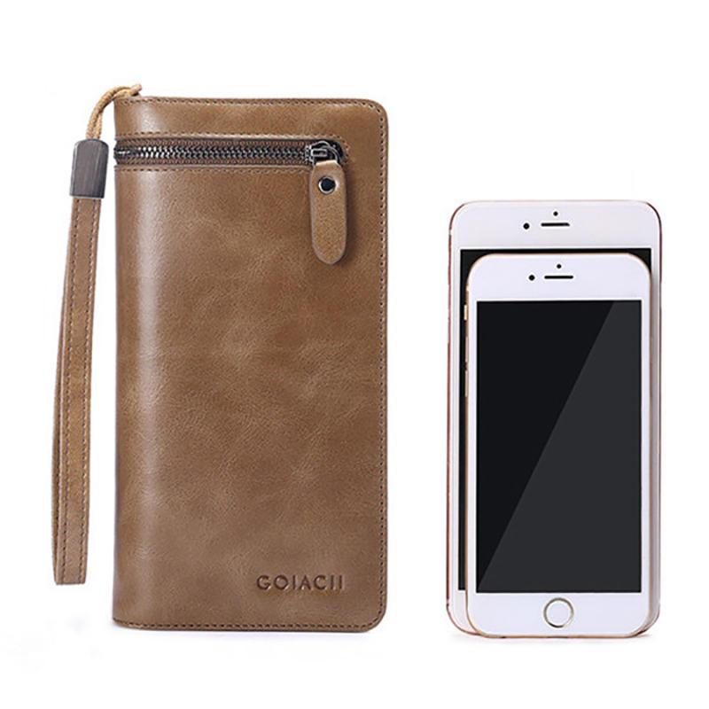 Bullcaptain Bag Men Genuine Leather Loop Belt Phone Bag - 12