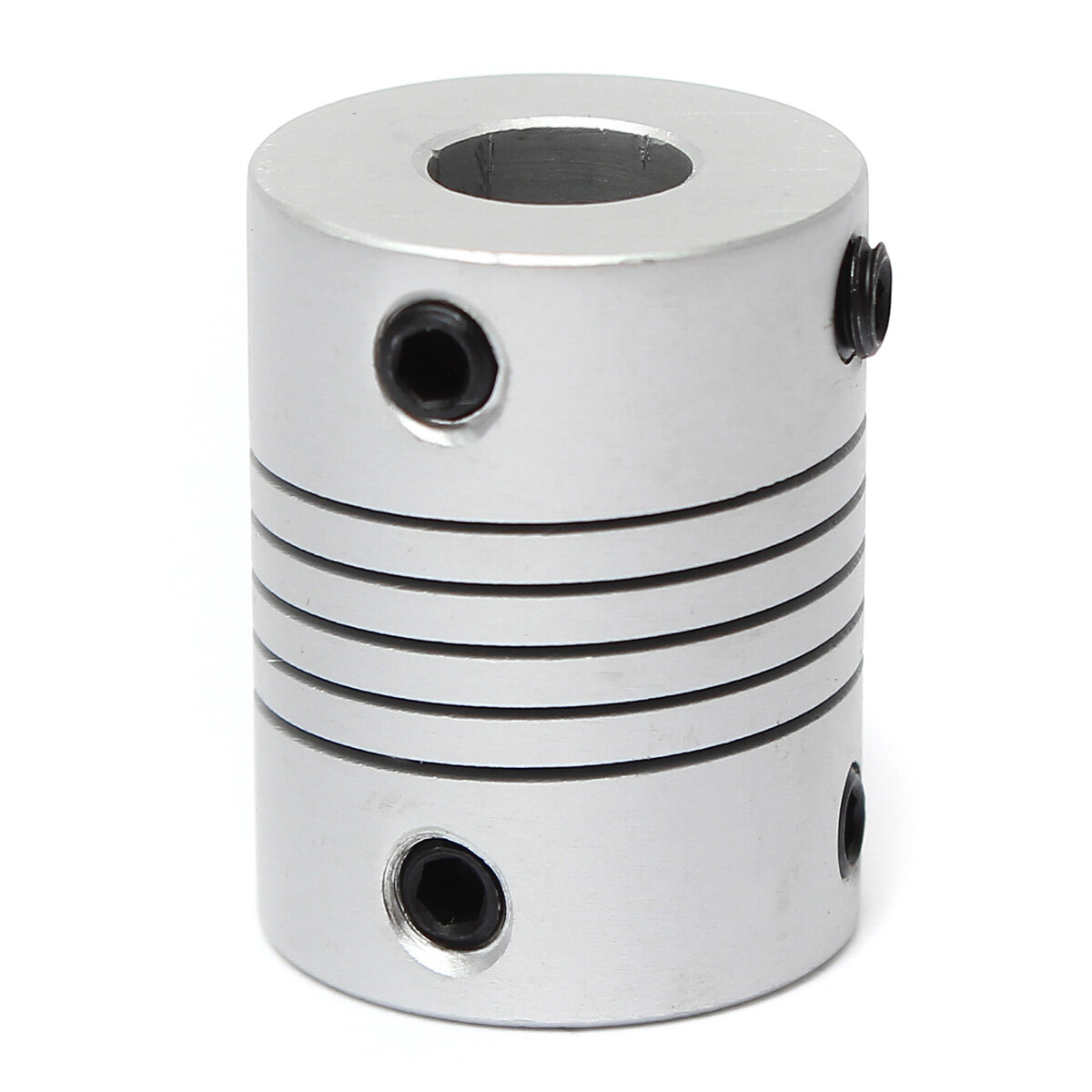 5mm x 8mm Aluminum Flexible Shaft Coupling OD19mm x L25mm CNC Stepper Motor Coupler Connector фото