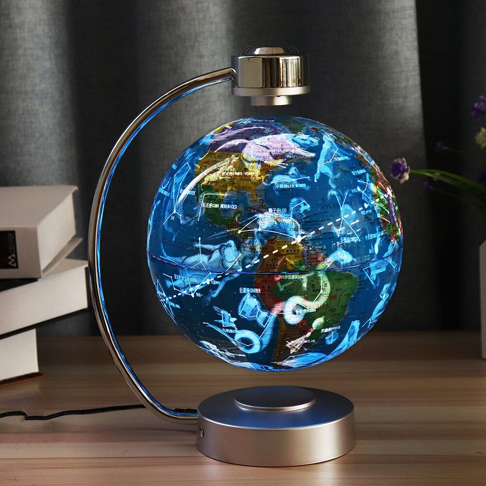 8 Inches Magnetic Levitation Floating Globe Constellation Light Desk Lamp Decor Toy
