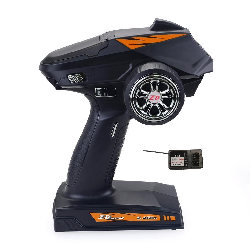 ZD Racing 8277 2.4G 4CH Radio 500M Remote Control Transmitter with Receiver for Rc Car Boat Tank
