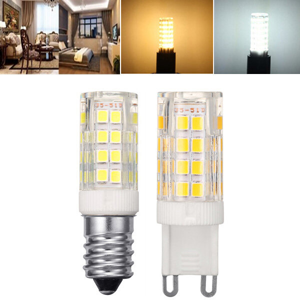 AC110-240V 9W G9 SMD2835 Non-dimmable 75 LED Ceramic Corn Light Bulb for Outdoor Home Decoration - 1