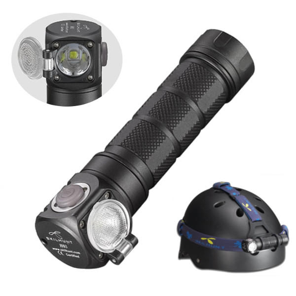 Convoy Z1 SST40 2000lm 12-group Modes + Zoomable Temperature Control 18650/21700 Powerful LED Flashlight - 1